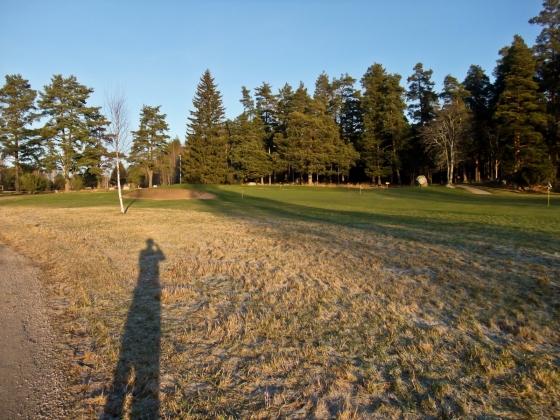 Gröna greener på golfbanan