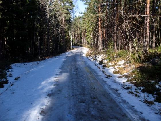 Gamla Bönavägen är en isgata