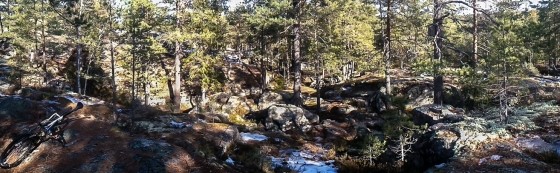 Panorama från Hilleklack
